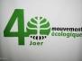 40 Anniversaire Mouvement Ecologique