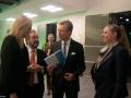 Blanche Weber (Mouvement Écologique), Gast Gibéryen (Président de la Chambre des députés par intérim), S.A.R. le Grand-Duc et Carole Dieschbourg (Ministre de l'Environnement)