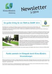 Coversait newsletter 3/2014 KBL