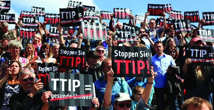 protest ttip news