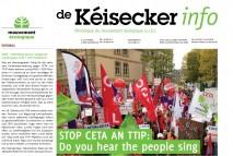 Kéisecker Info Oktober 2 Cover