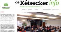 Kéisecker Info Titel Februar news