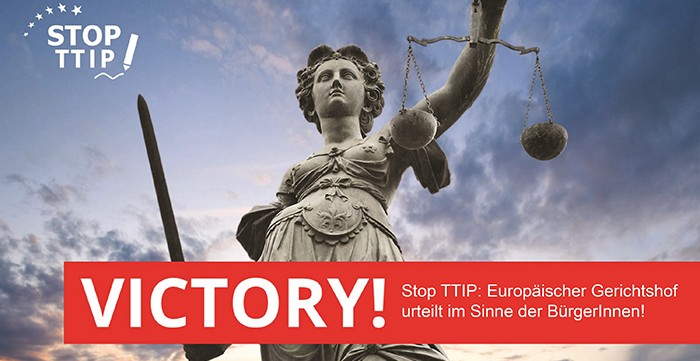 TTIP Victory news