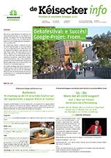 Titel Kéisecker Info oktober