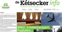 Kéisecker Info november news