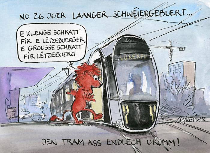 Tram Gléckwonsch